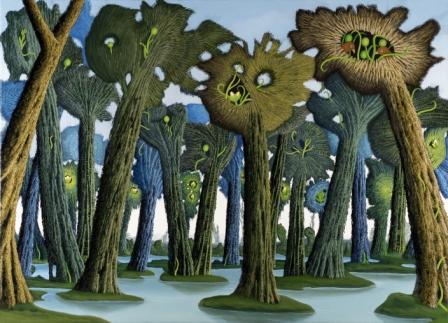 Forêt palustre