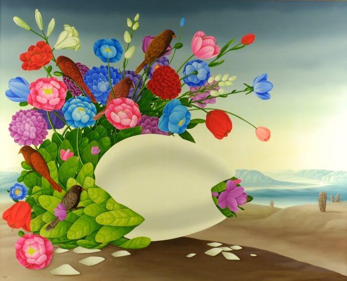 Das Blüten-Ei