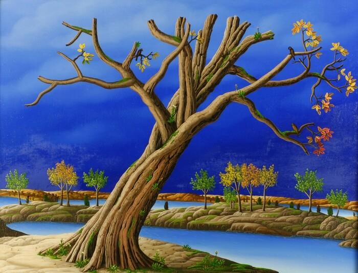 Vergessener Baum