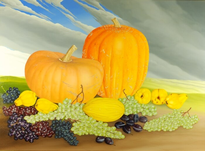 Great pumpkin still life