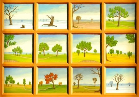 The months (landscape)